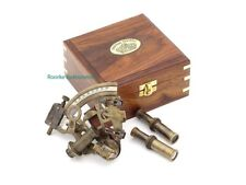 Roorkee Antique Sextant for Navigation/Marine Brass Sextant Instrument for Ship/