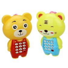 Baby Kids Cartoon Cellphone Toy Boys Girls Phone Toy Gift Lanyard Portable