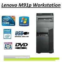 Lenovo Workstation m91p Core i7 3,4GHz, 8GB, 320GB, Win7, DVD