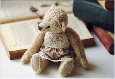 TEDDY BEAR OF 30-s Photo of handmade toy Modern Russian postcard