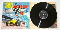 500 Miles To Glory Vinyl LP signed by 19 Indy 500 Winners