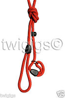 Hi-Craft 🐶 Dog Slip Lead Parklife™ RED 10mm Nylon Rope 🐕