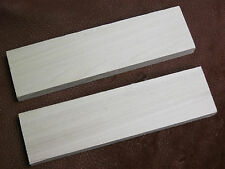 2 Cottonwood Bow Drill Fire Boards -Primitive Fire Starting Friction Fire