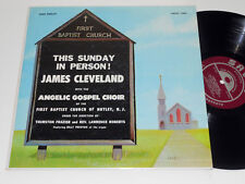 JAMES CLEVELAND ANGELIC GOSPEL CHOIR  NM- Black gospel This Sunday Savoy MG14059