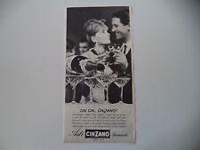 advertising Pubblicità 1962 ASTI CINZANO SPUMANTE