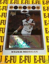 "2008 Topps Chrome NYJER MORGAN RC Autograph #225 Pirates Auto AKA ""Tony Plush"""