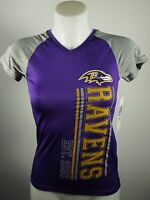 Baltimore Ravens Girls Youth 100% Polyester Official NFL Athletic Shirt NWT