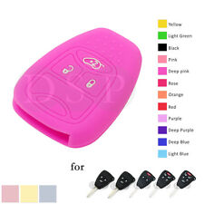 Silicone Skin Cover fit for CHRYSLER DODGE JEEP Remote Key Case Fob CV4751 KP