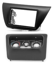 Carav 11-653 2-DIN Car Radio Faceplate for Mitsubishi Lancer ( Ix) with Panel