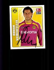 Roman Weidenfeller Borussia Dortmund TOPPS Sammelbild Original Signier+ A 152607