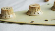 Aged Vintage Knöpfe Poti Knobs (3) for Strat Stratocaster Relic Fcustom