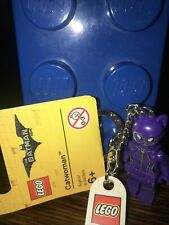 LEGO - THE BATMAN MOVIE - KEY-RING ( SET 853635 - CATWOMAN ) BRAND NEW