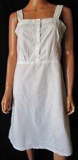 ***Camicia da Notte Nightdress Vintage TG.44 stimata Colore Bianco panna Cod. AS