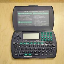 Sharp EL-6710S Electronic Calculator Organizer Tested Works 34KB