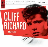 CLIFF RICHARD Move It 2012 24-track compilation CD album BRAND NEW The Shadows