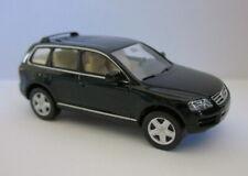 VW Touareg - dunkel grün metallic in OVP, Wiking / Volkswagen Verpackung
