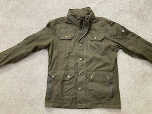 Kuhl Jacket Brown Men's Large Born In The Mountains RN 108846 Pockets Zip Hood