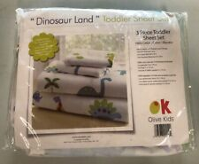 Olive Kids Dinosaur Land 3 Piece Sheet Set (Toddler)