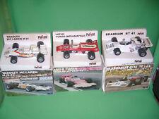 LOT DE 3 Polistil Formule 1 1/25