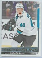 2018-19 Upper Deck Series One #238 Antti Suomela YOUNG GUNS Rookie