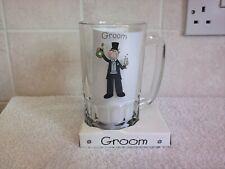 Wedding Groom Pint Glass Tankard