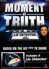 MOMENT OF TRUTH - LIE DETECTOR CARD GAME Includes a Lie Detector