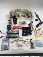 RC Car Batteries Motors & Othe Misc Parts - See Pictures