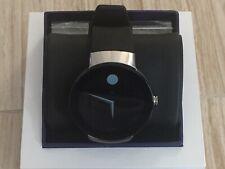 Movado  Smartwatch Connect Smart Watch StainlessSteel - Black strap.Silver Bezel