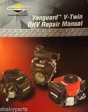 Genuine Briggs & Stratton VANGUARD V-TWIN OHV SERVICE MANUAL 272144 NEW