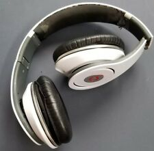 Beats by Dr. Dre Studio1 Headphones - WHITE - NO RESERVE !!!! USED - with case!