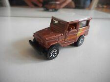Matchbox Toyota Land Cruiser FJ40 in Copper