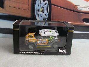 IXO MODELS - MINI ALL 4 RACING #307 3RD DAKAR 2013 1/43 SCALE MODEL CAR RAM575P
