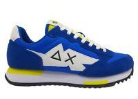 Scarpe da uomo SUN 68 NIKI Z31118 sneakers basse casual sportive comode azzurro