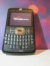 Motorola Q9m Cell Phone - Black - As Is. Turns On. Includes battery. No charger.