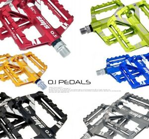 Aluminum Road MTB Mountain Bike XC AM Bicycle Pedal DU Bearing Flat Pedals SMS