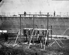 New 8x10 Photo: Hanged Bodies of Abraham Lincoln Conspirators after Execution