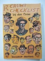 R. Robert Crumb Checklist by Donald Fiene