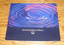 Original 1993 Honda Accord Sedan & Wagon Deluxe Sales Brochure 93