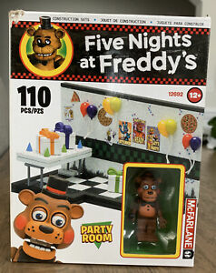 FNAF Five Nights at Freddys PARTY ROOM 12692 McFarlane Construction Set 2017