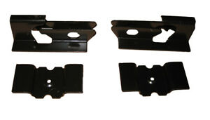 66-72 GM A-Body Floor Pan Rear Seat Mounting Anchor Brackets Bracket 4pc Set