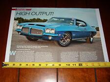 1971 PONTIAC GTO 455 GTO - ORIGINAL ARTICLE