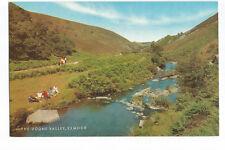 Postcard The Doone Valley Exmoor Somerset   (A12)