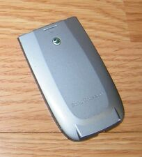*Replacement* Gray Battery Cover / Door Only ForSony Ericsson Z500a Cell Phone