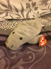 1995 Retired Manny the Manatee Ty Beanie Baby Plush Toy New