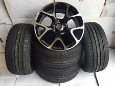 """18""""snowflake bp alloy wheels Vauxhall Astra/Vectra/Zafira-Alfa 59/Saab-vxr tyres"""