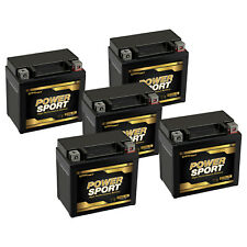 5 Pack - YTX5L-BS Replacement YTX5L-BS for Suzuki LT80 QuadSport 80 ATV Battery