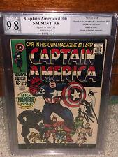 Captain America #100 PGX 9.8 Stan Lee Signature! Free CGC sized mylar! K10 1 cm