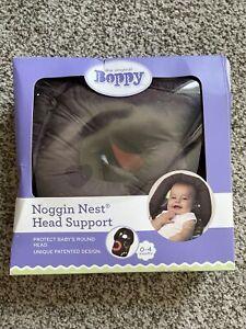 Boppy Noggin Nest Head Support, Brown Wheels