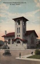 Postcard Westminster Presbyterian Church El Paso Tx