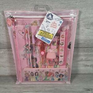 Disney Princess Pencil Case 10 Piece Stationery Set Official Disney Store  Gift